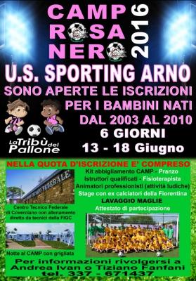 Camp Rosa Nero 2016